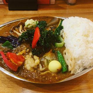 野菜カレー(大盛)