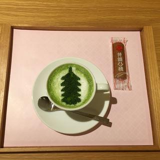 抹茶ラテ(イヅツカフェ (IZUTSU CAFE))