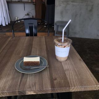 黒ごまきなこラテ(Siro Coffee(シロコーヒー))