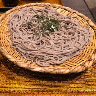 ざるそば(おらが蕎麦京都AVANTI店)