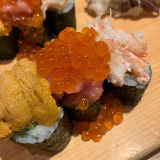 海鮮「のっけ」寿司(築地竹若 池袋店 (つきじたけわか))