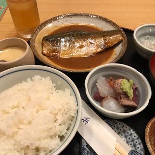 さばのみそ煮定食(舞浜)