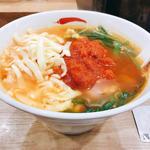 トマト辛麺(こんにゃく麺)