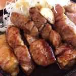 とんテキ定食(豚屋とん一 イオンモール石巻店)