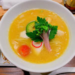 鶏白湯醤油SOBA