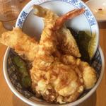 天丼(揚げたて天ぷら定食 まきの 難波千日前店)