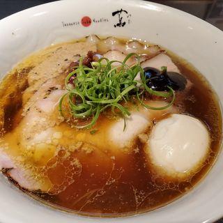 味玉醤油そば(Japanese Soba Noodles 蔦)