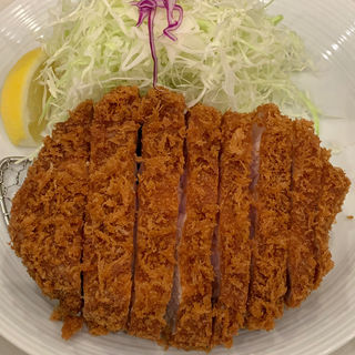 リブロース定食(とんかつ檍 浅草橋店)