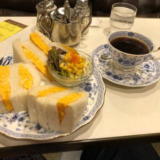 サンドイッチセット(珈琲 冨士男 )