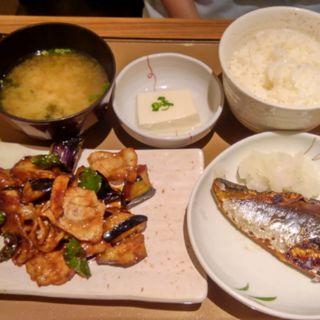 茄子と豚肉の味噌炒め(やよい軒 (ヤヨイケン))