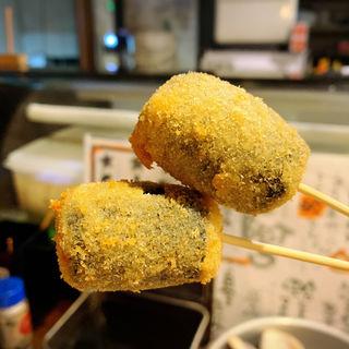 串揚げ(もち明太チーズ)(はまぐり屋 串左衛門 )
