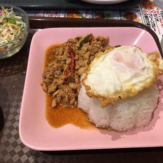 ガパオライス(Soul Food Bangkok 溜池山王店 (ソウルフード バンコク))