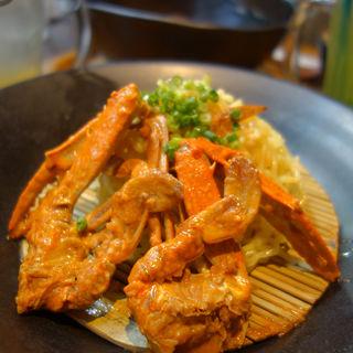 渡り蟹のつけ麺(筥崎 鳩太郎商店(はこざき きゅうたろうしょうてん))