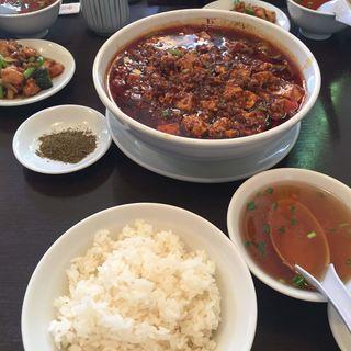 陳麻婆豆腐定食(盛 (サカリ))