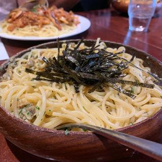 あさり&バジリコ(スパゴ )