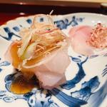 甘鯛のお造りぽん酢ジュレ(鮨 料理 一高)
