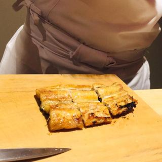 鹿児島 泰正養鰻 鰻の白焼き(鮨 料理 一高)