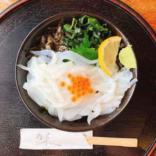 イカ丼(魚庄 大原店 (うおしょう))