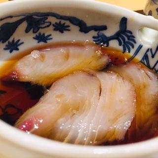 鰆の松前漬風(鮨 料理 一高)