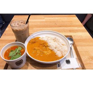 カレーとスープのセット(スープストックトーキョー 西武新宿店 (Soup Stock TOKYO))