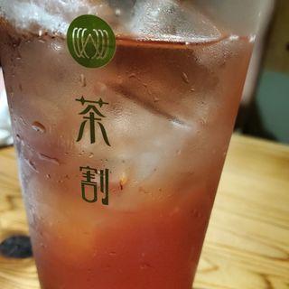 抹茶×焼酎、阿波晩茶×ウイスキー、アールグレイ×カシス、玄米茶×焼酎、茎茶×ジン(茶割)