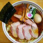 焼豚ワンタン麺 味玉入り(とら食堂 松戸分店 )