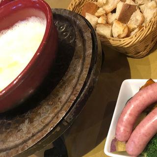 チーズフォンディユ