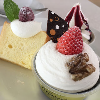ケーキセット(北菓楼札幌本館)