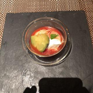 トマトのカッペリーニ(Furutoshi)