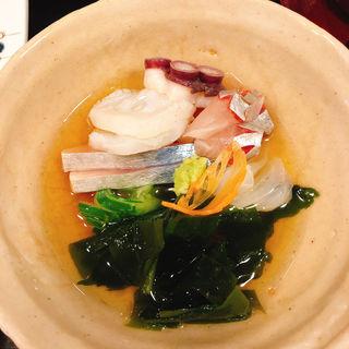 酢の物(麻布永坂 更科本店 (あざぶながさかさらしなほんてん))