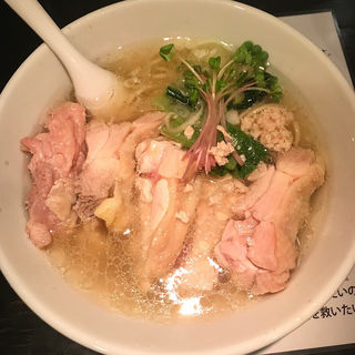 塩生姜らー麺 肉増し(塩生姜らー麺専門店 MANNISH (マニッシュ))