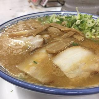 チャーシュー麺(元祖赤のれん 雄ちゃんラーメン)