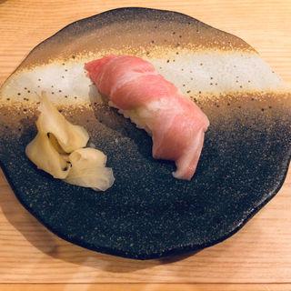 本マグロ大トロ(板前寿司 江戸)