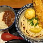 ちく玉カレーライスセット(サラダ付き)