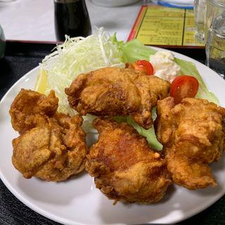唐揚げ定食(中華料理 清華 )