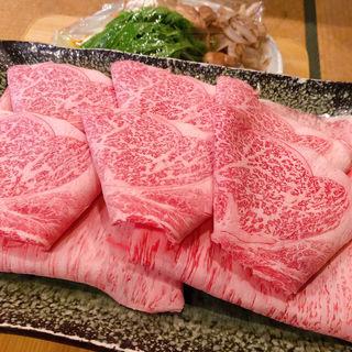すき焼き(焼肉 多牛 駅南店 (タギュウ))