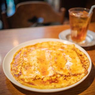 フレンチトーストセット(ブンブン紅茶店)
