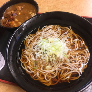 ミニカレー丼セット(成田駅そば )