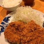 ひれかつ定食(とんかつ 寿々木 )