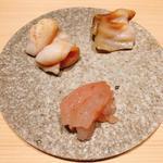 甘海老 トリ貝 つぶ貝