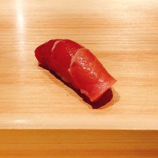 中トロの握り(鮨 利崎)