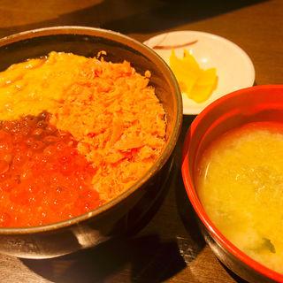 三種お好み丼(A)