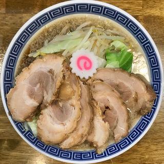 チャーシュー背脂そば(拉麺アイオイ)
