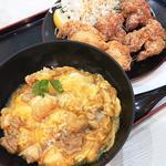 SARAH_ハーフ親子丼と唐揚げセット(6ヶ)