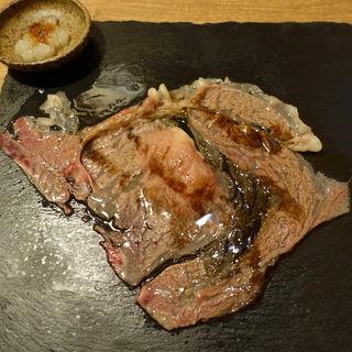 大判炙り肉寿司(肉割烹バル 牛牛 GYUGYU 祇園本店 )