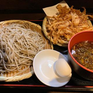 天ざる 大盛(蕎麦 さだはる 西新橋店 (【旧店名】蕎麦 まえだ))