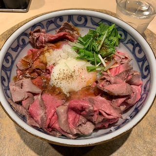 究極のローストビーフ丼 肉増し 200g(HAL YAMASHITA大手町lounge (ハル ヤマシタ オオテマチ ラウンジ))