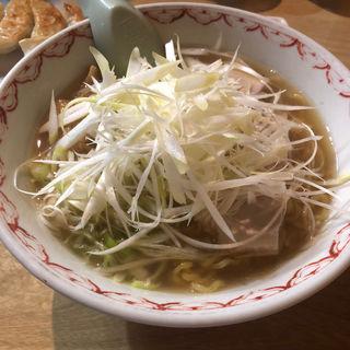 ネギたっぷりラーメン 塩(味一番つばさ 新ラーメン横丁店)