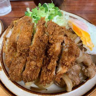 チキンカツしょうが焼きライス(馬場南海 )