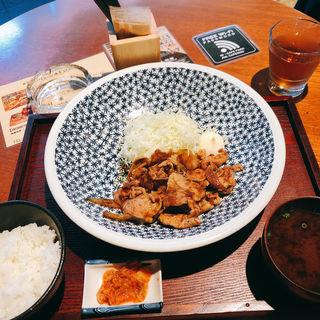 ランチ 豚の生姜焼き定食(カフェ パーク)